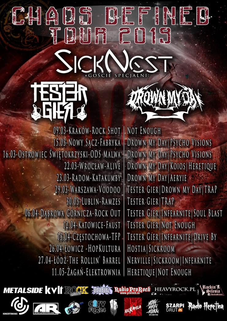 SickNest - Chaos Defined Tour