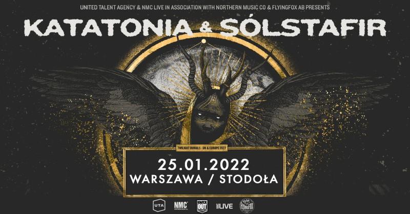 Katatonia i Sólstafir wystąpią w Warszawie