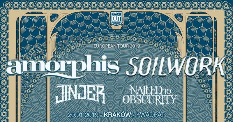 Amorphis i Soilwork w Krakowie. Sold Out.