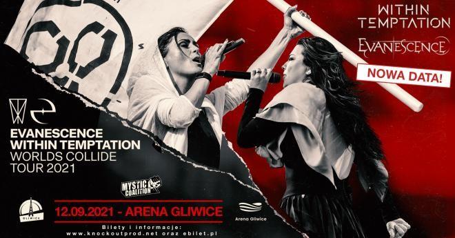 Within Temptation i Evanescence w Polsce: Nowy termin koncertu