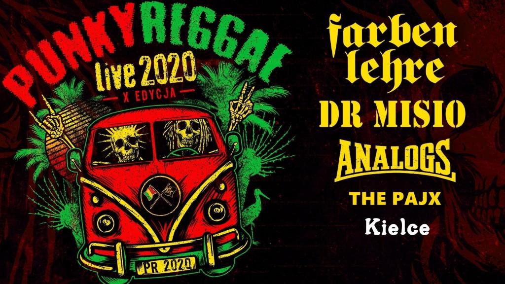 X-edycja trasy PUNKY REGGAE live w kielcekim Garażu