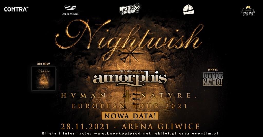 Nightwish w Polsce: Nowy termin koncertu