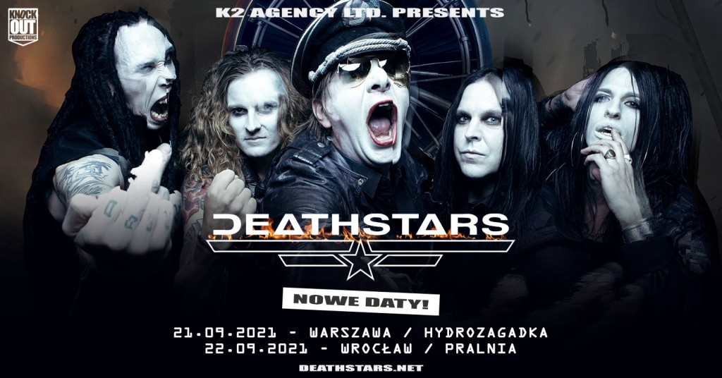 Deathstars w Polsce: Koncerty przeniesione