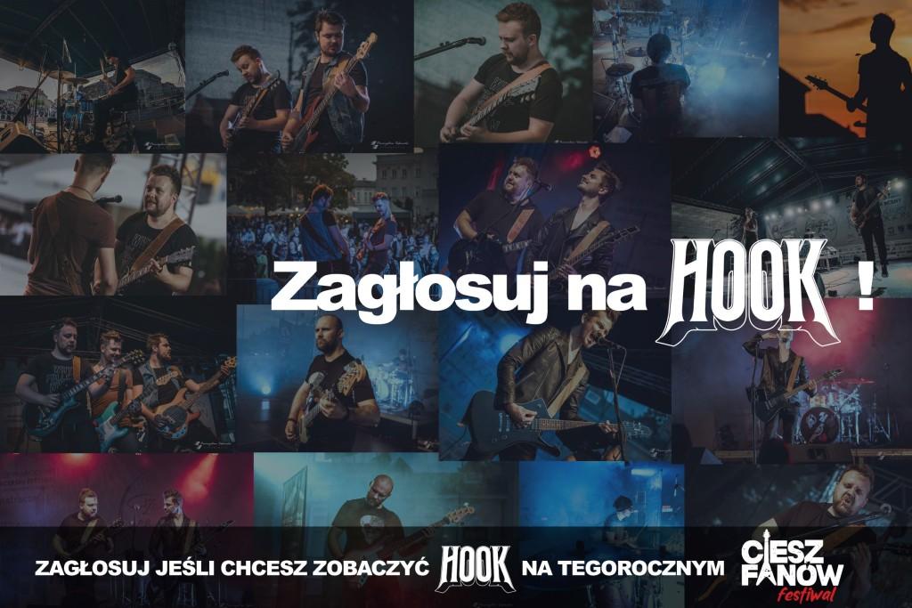 Dzięki Tobie Hook może zagrać na CieszFanów Festiwal 2021