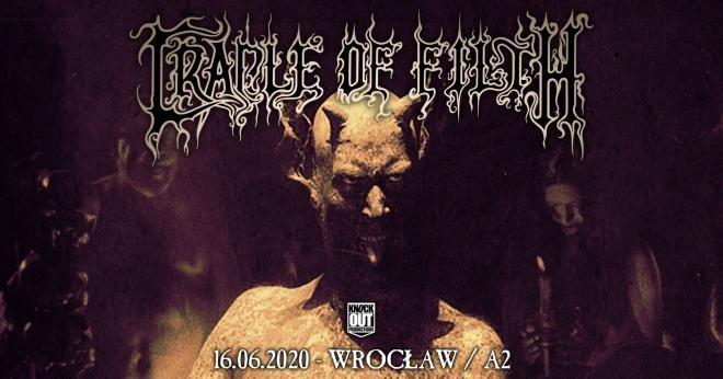 Brytyjczycy z Cradle Of Filth ponownie zaprezentują się w Polsce!