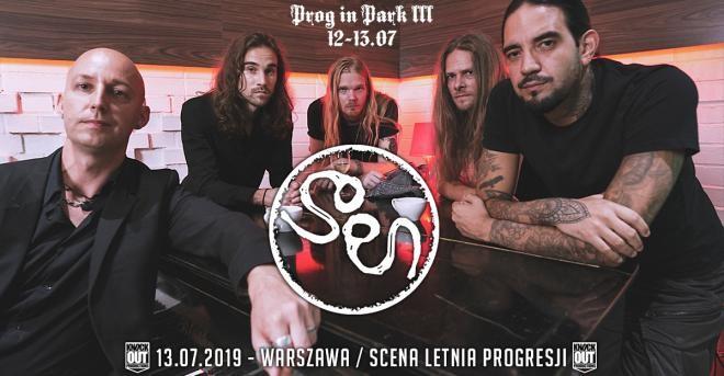 Festiwal Prog In Park III - SOEN (Szwecja) rock progresywny, progmetal