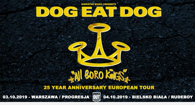 Dwa koncerty Dog Eat Dog w naszym kraju!