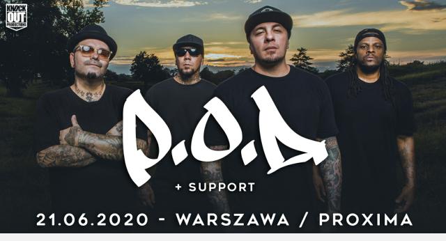 P.O.D. w warszawskiej Proximie