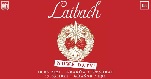 Trasa koncertowa Laibach przełożona na przyszły rok