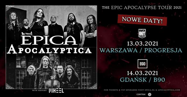 Apocalyptica i Epica w Polsce