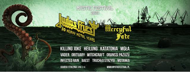 Mercyful Fate wystąpi na Mystic Festival 2021