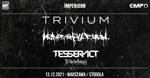Trivium i Heaven Shall Burn wystąpią w Warszawie
