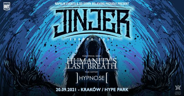 Jinjer w Krakowie