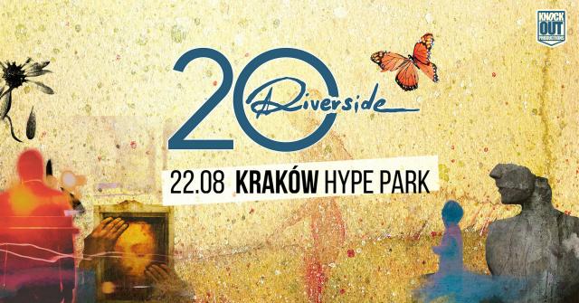 Jubileuszowy koncert Riverside w krakowskim Hype Parku