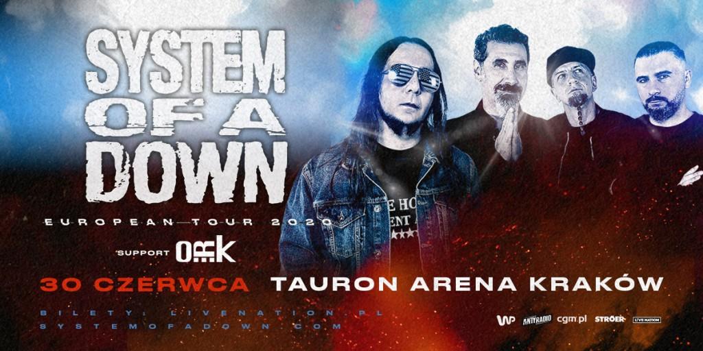 System Of A Down powraca do Polski