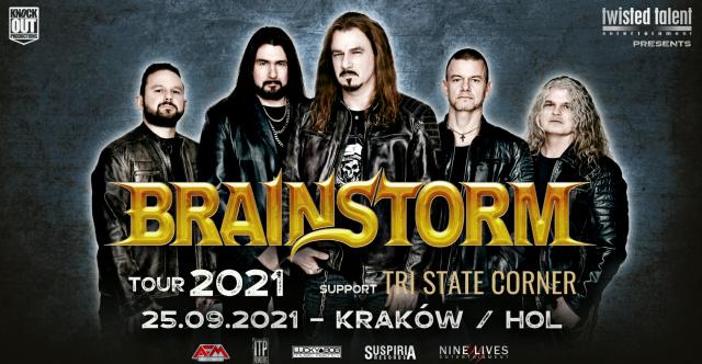 Brainstorm przyjedzie do Polski z nowym albumem