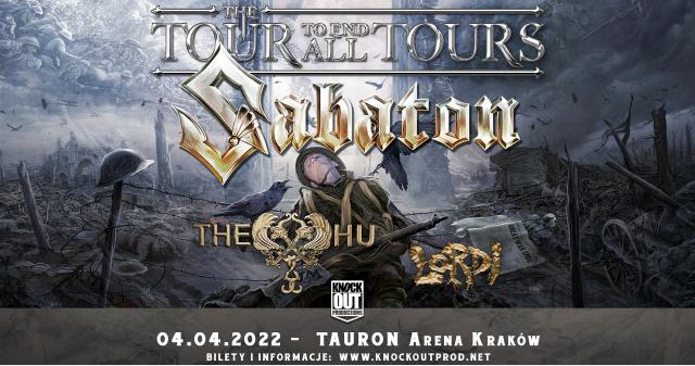 Sabaton przyjedzie do Polski w towarzystwie The HU i Lordi