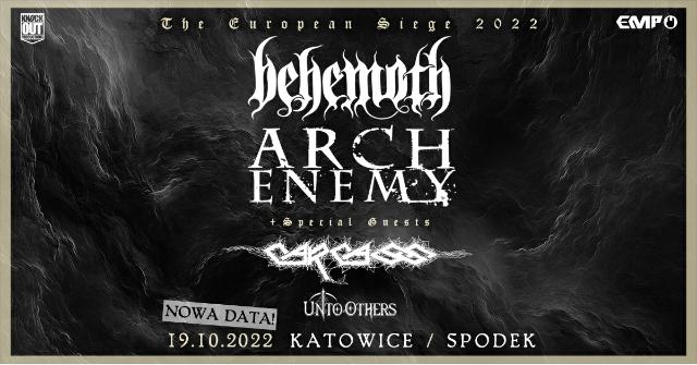 Zmiana daty oraz miejsca koncertu Behemoth i Arch Enemy w Polsce