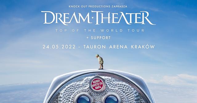 Dream Theater wystąpi w Krakowie