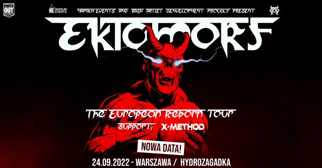 Ektomorf w Warszawie: Zmiana terminu koncertu