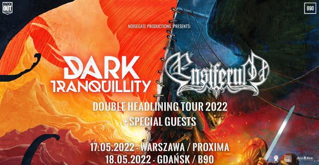 Dwa koncerty Dark Tranquility i Ensiferum w Polsce