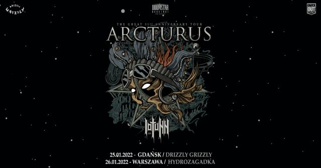 Arcturus na dwóch koncertach w Polsce