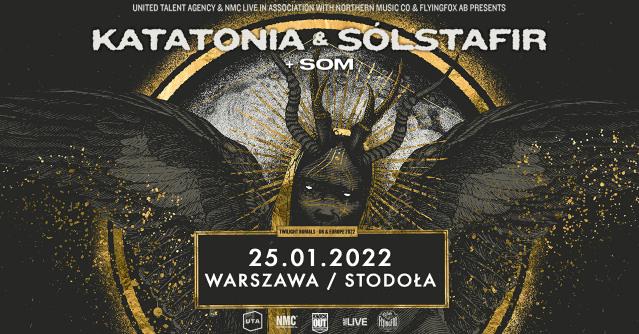 Katatonia i Sólstafir w Warszawie: W roli supportu wystąpi SOM