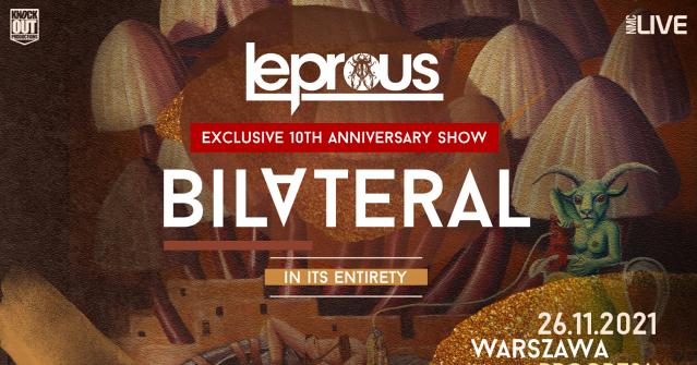 """Leprous przyleci do Polski 26 listopada na wyjątkowy koncert z okazji 10-lecia albumu """"Bilateral"""""""