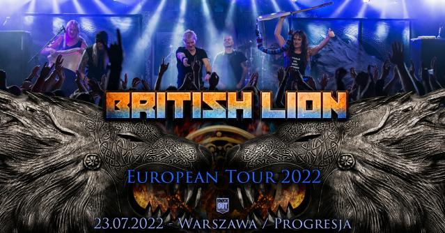 British Lion w Warszawie: Znamy nowy termin i miejsce koncertu
