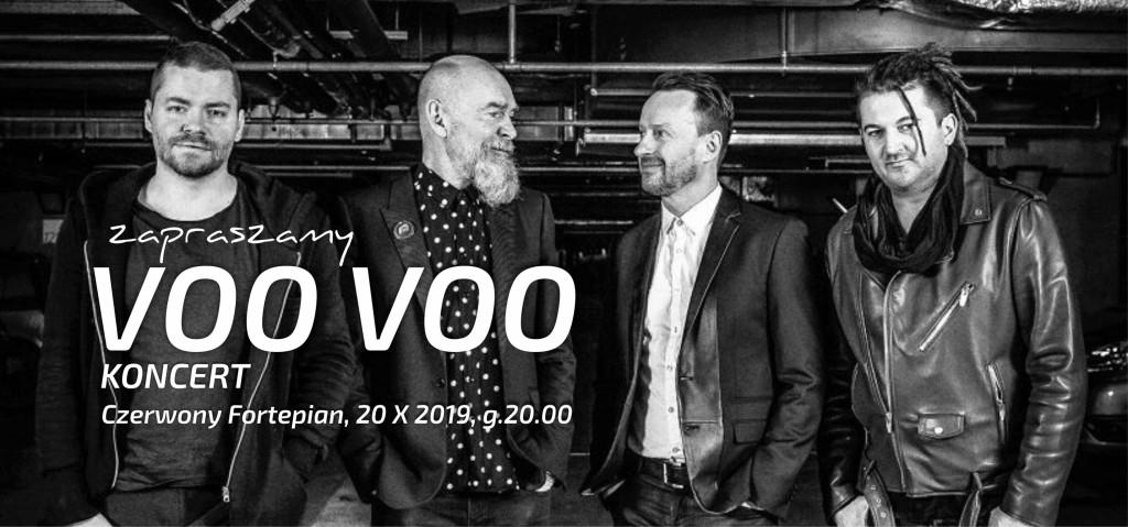 Voo Voo w Czerwonym Fortepianie w Kielcach